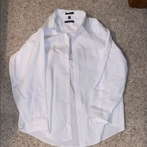 Geoffrey Beene Men's White Button Up